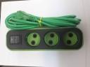 سیم رابط سه راهی مشکی با کابل سبز
