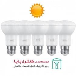لامپ LED رفلکتور 6 وات آفتابی 5 تایی پارسه شید