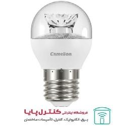 لامپ LED حبابی  کریستالی مهتابی 6 وات Camelion