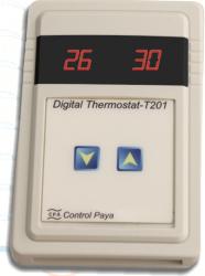 ترموستات دیجیتال تک دور T201
