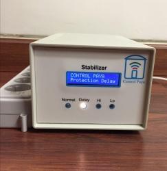 استابیلایزر ST4000 : محافظ و ترانس تثبیت ولتاژ دیجیتال با نمایشگر LCD