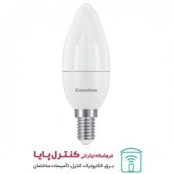 لامپ LED شمعی مهتابی 6 وات کملیون Camelion
