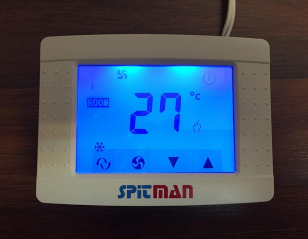 thouchscreen thermostat