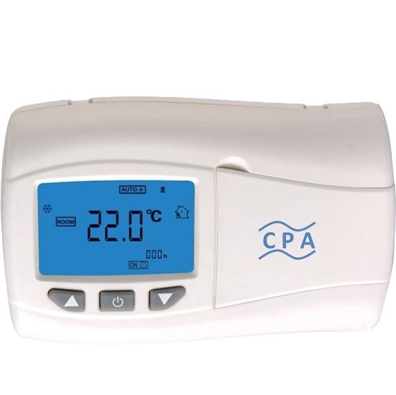 ترموستات اتاقی بیسیم برنامه پذیر هفتگی ویژه پکیج گرمایشی مدل T205
