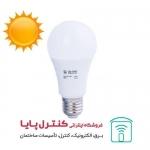 لامپ حبابی ال ای دی 12 وات پایه E27 آفتابی بالاستیران