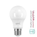 لامپ LED حبابی مهتابی 9 وات