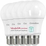 لامپ LED حبابی  مهتابی 7 وات بسته پنج تایی
