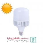 لامپ حبابی ال ای دی 50 وات بالاستیران پایه E27 افتابی