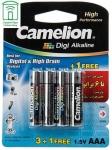 باتری نیم قلمی کملیون مدل Digi Alkaline بسته 4 عددی