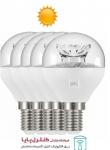 لامپ LED حبابی کریستالی 6 وات افتابی 5 تایی پارسه شید
