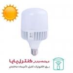 لامپ حبابی ال ای دی 40 وات بالاستیران پایه E27 افتابی