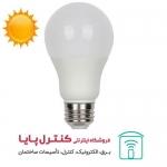 لامپ حبابی ال ای دی 20 وات بالاستیران پایه E27 افتابی