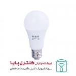 لامپ حبابی ال ای دی 12 وات پایه E27 مهتابی بالاستیران