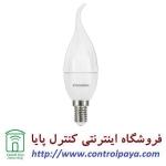لامپ LED شمعی مات اشکی 6 وات مهتابی کملیون